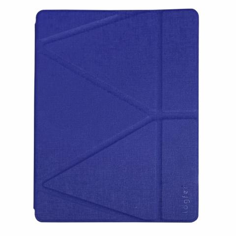 """Чехол Logfer с держателем для стилуса для iPad Pro 11"""" M1 (2021) - синий"""