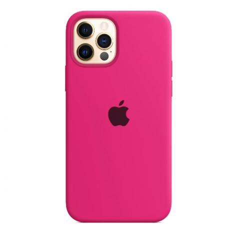 Силиконовый чехол для iPnone 13 Pro Max - Barbie Pink