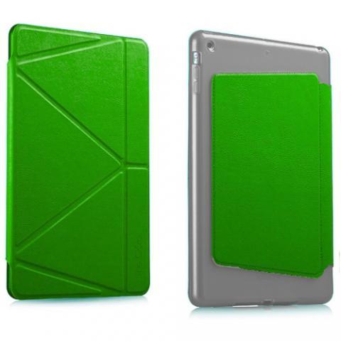 Чехол Logfer Origami для iPad Air 4 10,9 (2020) - Green