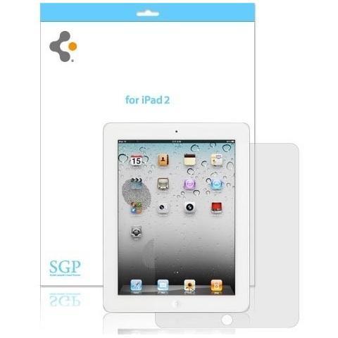 Защитная пленка SGP Ultra Crystal for iPad 2/iPad 3 (матовая)