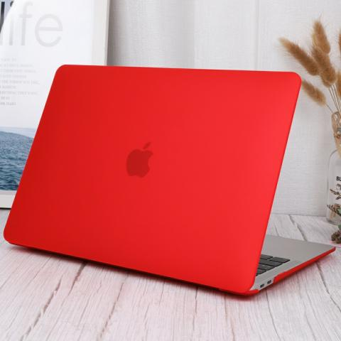 "Чехол-накладка для Macbook Pro 13"" (2016-2020) Red"