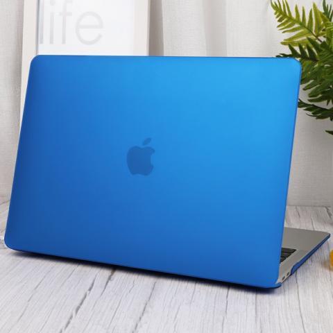"""Матовый чехол для MacBook Air 13"""" (2018-2020) Blue"""