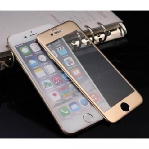 Защитное стекло 3D Curved Tempered Glass Gold для iPhone 7
