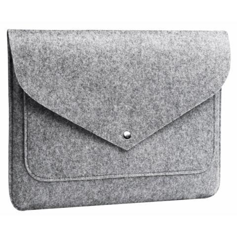 """Чехол-конверт из войлока Мodel 1 для Macbook Air/Pro 13.3"""" grey"""