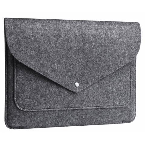 """Чехол-конверт из войлока Мodel 10 для Macbook Air/Pro 13.3"""" grey"""