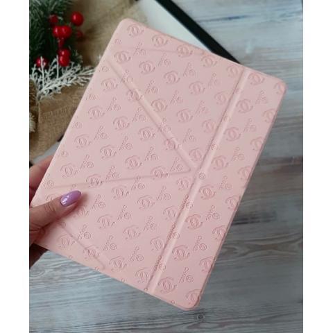 Чехол Chanel с держателем для стилуса для iPad Air - нежно-розовый