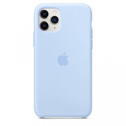 Apple Silicone Case для iPhone 11 Pro Max - Lilac (Hi-Copy)