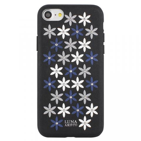 Чехол Luna Aristo Daisies Case Black For iPhone 7/8 (LA-IP8DAS-BLK)