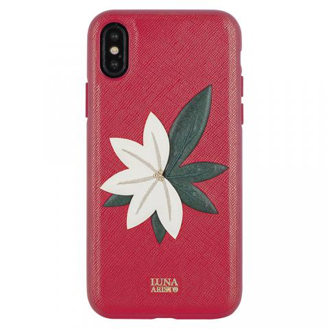 Чехол Luna Aristo Phyllis Case Red For iPhone X (LA-IPXSPPHY-RED)