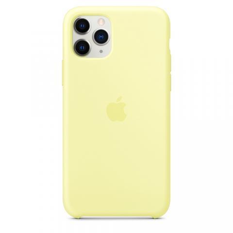 Apple Silicone Case для iPhone 11 Pro Max - Mellow Yellow (Hi-Copy)