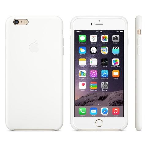 Чехол Apple Case for iPhone 6 Plus Silicone White
