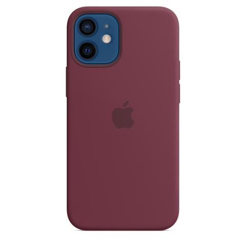Silicone Case для iPhone 12 Mini - Plum