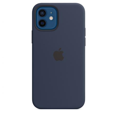 Silicone Case with MagSafe для iPhone 12 Mini - Deep Navy