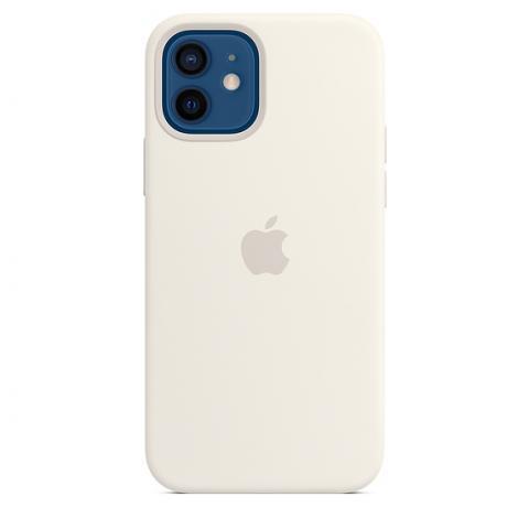 Silicone Case для iPhone 12/12 Pro - White