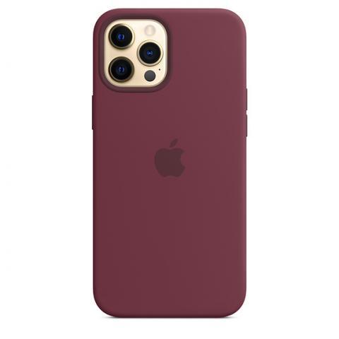 Silicone Case для iPhone 12 Pro Max - Plum