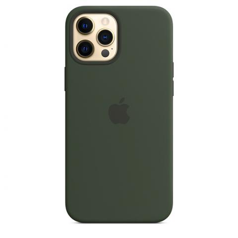 Silicone Case для iPhone 12 Pro Max - Cyprus Green