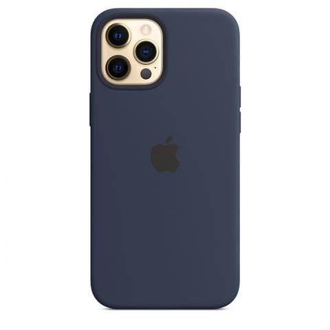 Silicone Case для iPhone 12 Pro Max - Deep Navy