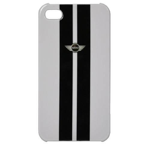 Чехол Mini Cooper для iPhone 4/4s - белый