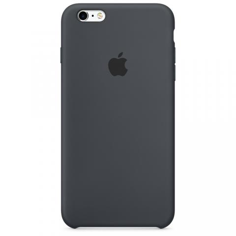 Apple Silicone Case iPhone 6/6S - Gray (Hi-copy)