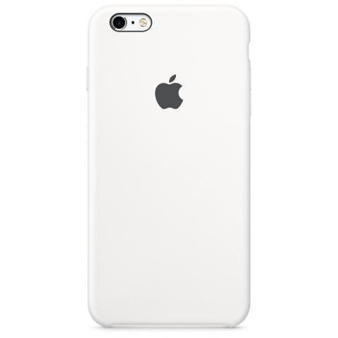 Apple Silicone Case для iPhone 5/5S/SE White (Hi-Copy)