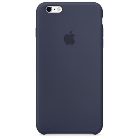 Apple Silicone Case iPhone 6/6S - Dark Blue (Hi-copy)