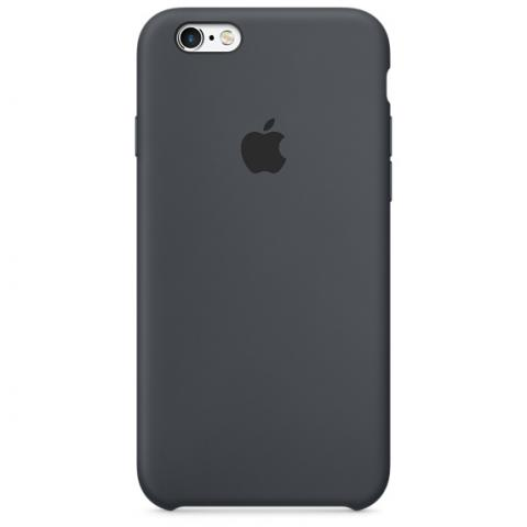 Apple Silicone Case для iPhone 5/5S/SE Charcoal Gray (Hi-Copy)
