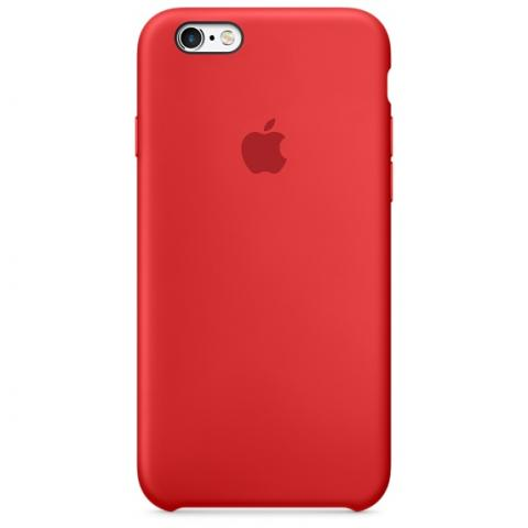 Apple Silicone Case for iPhone SE/5S/5 - Red (Hi-Copy)