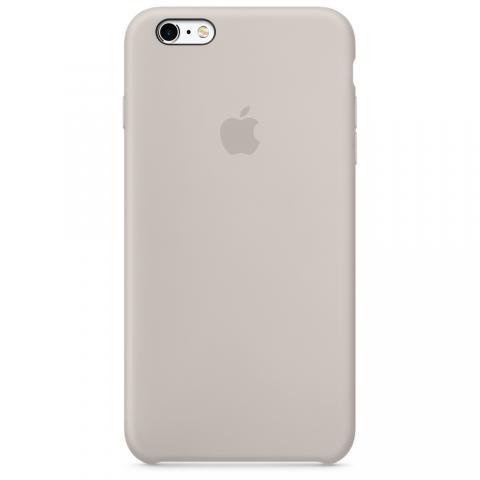 Apple Silicone Case для iPhone 5/5S/SE Beige (Hi-Copy)