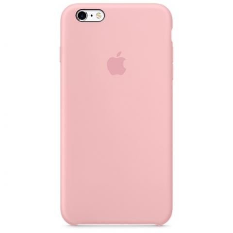 Apple Silicone Case for iPhone 6/6s - pink (Hi-Copy)