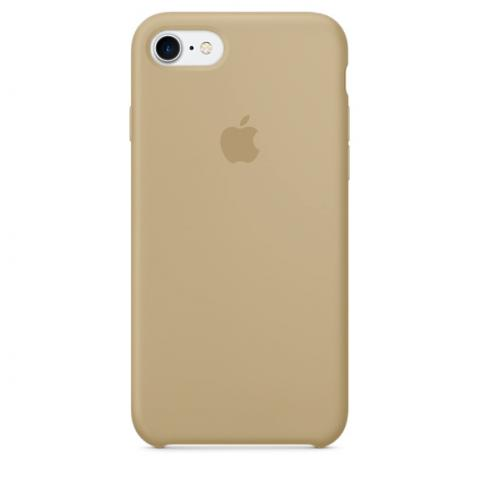 Apple Silicone Case for iPhone 6/6S - Beige (Hi-Copy)