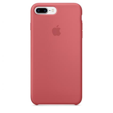 Apple Silicone Case for iPhone 7 Plus - Camellia (Hi-Copy)