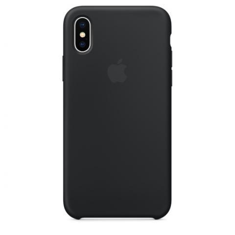 Apple Silicone Case для iPhone XS Max - Black (Hi-Copy)