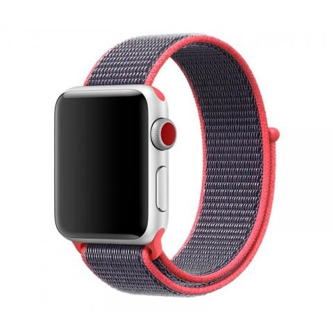Ремешок Sport Loop Band for Apple Watch 42/44 mm Electric Pink