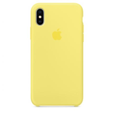 Apple Silicone Case for iPhone X - Flash (Hi-Copy)