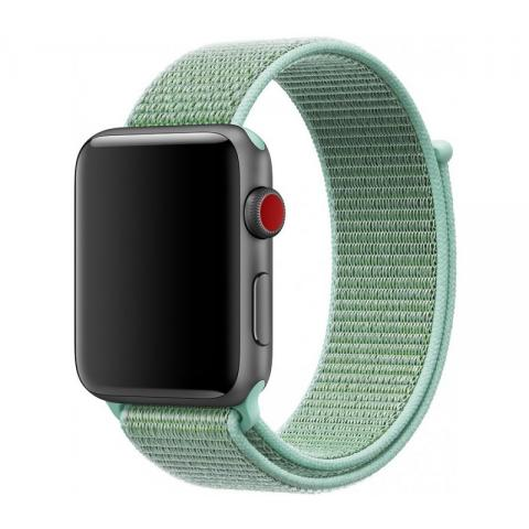 Ремешок Sport Loop Band for Apple Watch 42/44 mm Marine Green