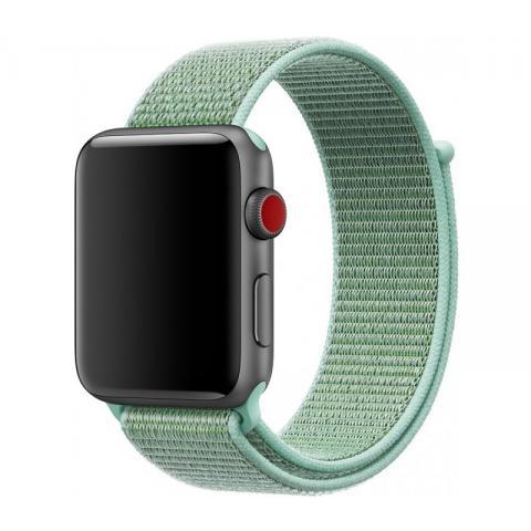 Ремешок Sport Loop Band for Apple Watch 38/42 mm Marine Green