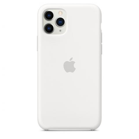 Apple Silicone Case для iPhone 11 Pro Max - White (Hi-Copy)