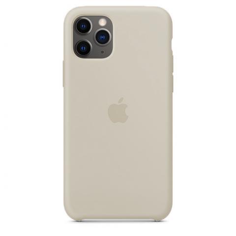 Apple Silicone Case для iPhone 11 Pro Max - Stone (Hi-Copy)
