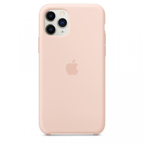 Apple Silicone Case для iPhone 11 Pro Max - Pink Sand (Hi-Copy)