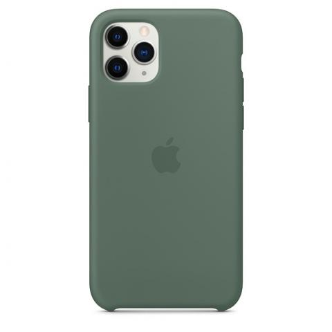Apple Silicone Case для iPhone 11 Pro Max - Pine Green (Hi-Copy)
