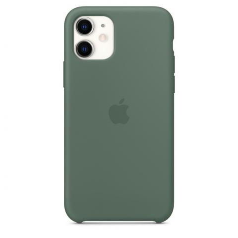 Apple Silicone Case для iPhone 11 - Pine Green (Hi-Copy)