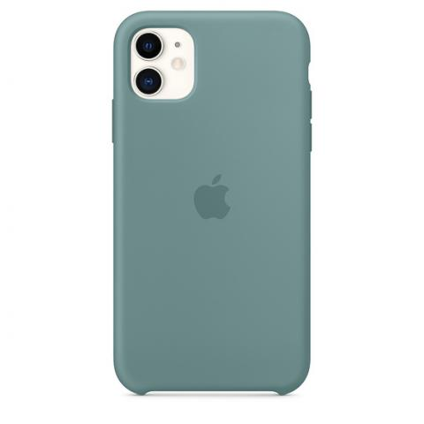 Silicone Case для iPhone 11 - Cactus
