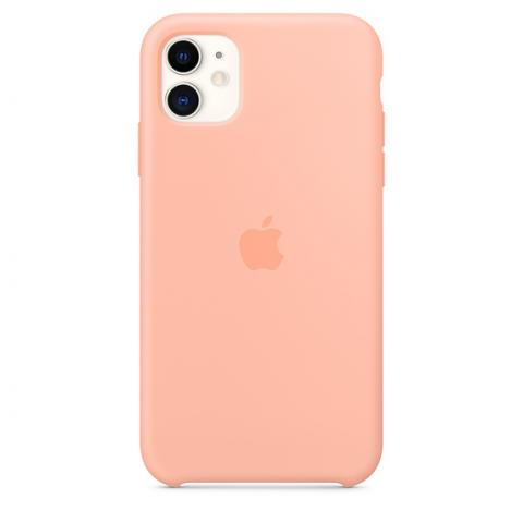 Silicone Case для iPhone 11 - Grapefruit