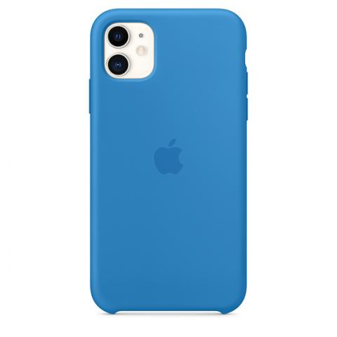 Silicone Case для iPhone 11 - Surf Blue