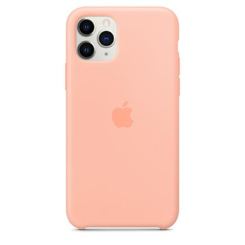 Silicone Case для iPhone 11 Pro Max - Grapefruit