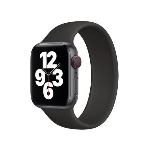 Силиконовый ремешок SOLO LOOP для Apple Watch 42/44 mm - Black