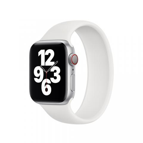 Силиконовый ремешок SOLO LOOP для Apple Watch 38/40 mm - White