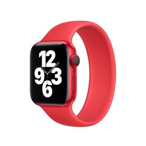 Силиконовый ремешок SOLO LOOP для Apple Watch 38/40 mm - Red