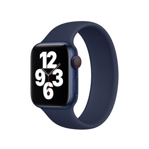 Силиконовый ремешок SOLO LOOP для Apple Watch 42/44 mm - Deep Blue
