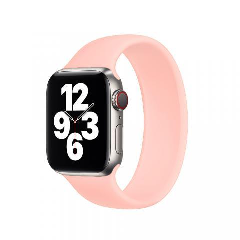 Силиконовый ремешок SOLO LOOP для Apple Watch 38/40 mm - Pink Sand
